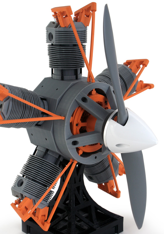 rotor with prop