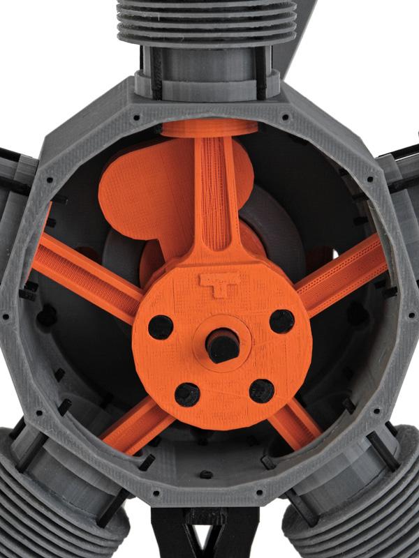 rotor rear detail