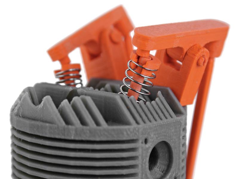 rotor detail springs