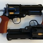 Hellboy prop guns
