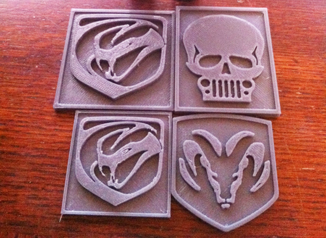 3D Printed Badges?….we don't need no stinking badges….but you might…