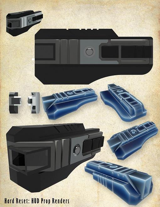 3D Printed Movie Props - Hard Reset | 3 Degrees Askew