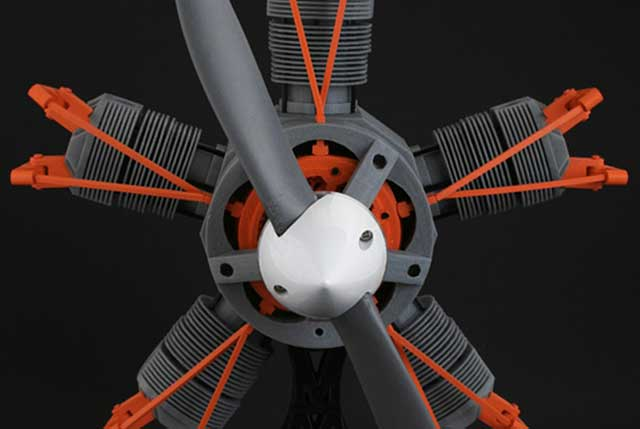 Radial Engine – 5 Cylinder