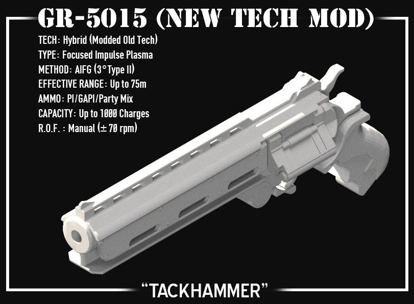 """3-D MODELING – """"TACKHAMMER"""" PROP GUN"""