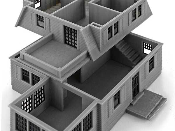 Cape Cod Style Home – Floors