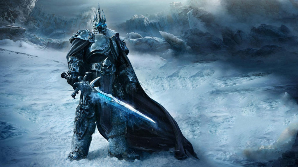 Frostmourne-Lich-King
