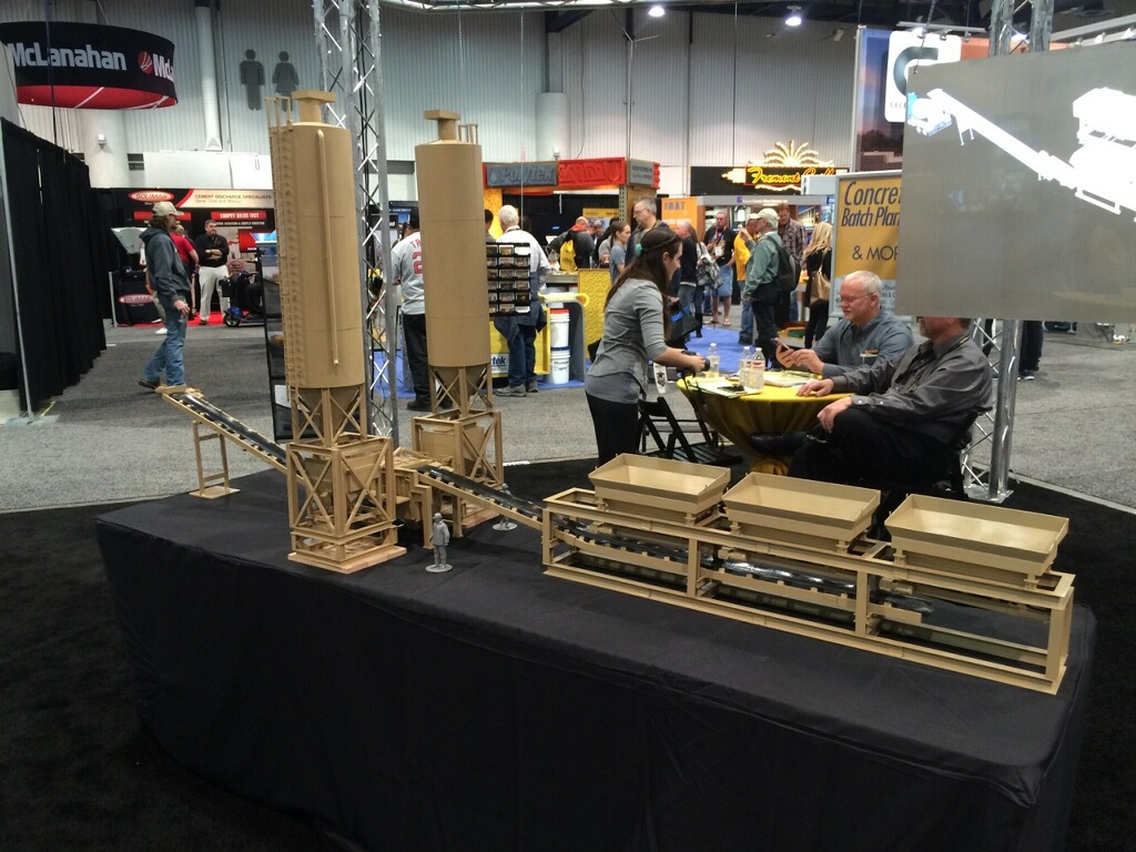 World of Concrete Convention – Large Scale Models